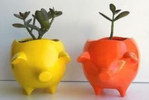 planters that pop / popping indoor planters **collection by the planter pod**