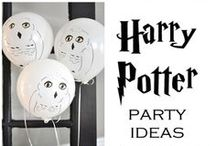 Harry Potter's Party Ideas / All kind of ideas for a great Harry Potter themed birthday party