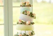 Tort ślubny / Inspirujące zdjęcia tortów na przyjęcie weselne.