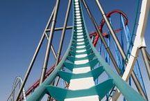 Rollercoaster / Achterbahnen