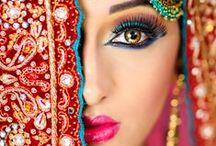 Splash of Color / Vibrant,  bold eye popping color