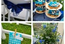 Weddingstyling - Something blue / Alles wat je nodig hebt om je bruiloft te stylen.