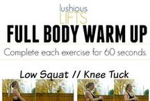 Fitness Warm Up Exercises