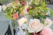 Blumen - Deko / Blumendeko für Hochzeit, Messe, Event und Familienfeiern