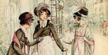Regency Romps / A visual portrayal of Regency era manners and mishaps.