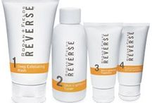 Reverse Regimen For Brown Spots, Dullness, and  Sun  Damaged Skin / It's not what you see ... It's what you don't see. Exposure to the sun and the environment can leave you with less-than-youthful skin. Erase the signs of premature aging, including brown spots, dullness, and sun damage with REVERSE. REVERSE Regimen exfoliates, lightens, brightens and protects your skin for a more even tone and texture. Recognized on Allure Magazine's A List / by Skin Care Tip Guide