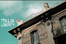 ITALIA LIBERTY / L'arte Liberty in Italia tra fine '800 e inizi '900 | Progetto ideato e curato da Andrea Speziali - www.italialiberty.it / by Andrea Speziali