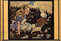 Carroll's Alice / Alice's book covers