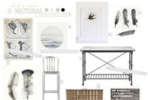 Style Boards | Living Room / Inspiration for decorating your Living & Family rooms.  :)