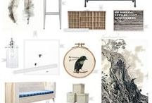 Style Boards | Living/Dining Combo / Inspiration for a living/dining shared space!  :)