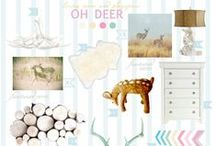 Style Boards | Living/Play Room / Inspiration for decorating a living & kids play room shared space.  :)