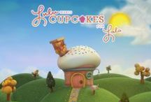 """Lulu&Lala - Episode 1 LuLu makes cupcakes for LaLa / """"LuLu&LaLa"""" is an interactive educational storytelling app designed for children of all ages. This app combines beautiful 3D animations and a printed book to make unforgettable storytelling magic."""