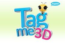 """TagMe 3D (Multilingual App) / """"TagMe"""" 3D is an innovative educational app that makes learning English both simple and exciting. This application uses emergent 3D and Augmented Reality technology to combine spelling, phonics, and visual representations to help build your vocabulary. The friendly interface makes TagMe3D incredibly easy to use while keeping users engaged through enchanting animations."""