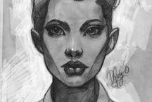 Good drawings of ladies