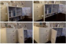 Furniture makeover x / by Vanilla Butterfly