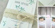 Zaproszenia ślubne, wedding invitations - Autorskie wzory / Zaproszenia ślubne z naszej autorskiej kolekcji