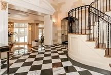 Elegant Entrances / It's all about making an entrance. Check out these elegant foyers and entryways into luxurious properties from our Leverage Global Partners.