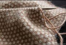 Knitted blanket….