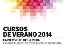 Cursos de Verano 2014 / Programación de los Cursos de Verano 2014 de la Universidad de La Rioja