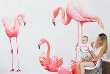 I Heart Flamingos / Flamingo Nursery Inspiration