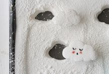 Marshmallows / sugar clouds