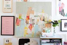 Mini Studio / Art Studio Inspiration for Littles!!!