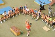 Escuela Nacional de Entrenadores / Imágenes relacionadas con la Escuela Nacional de Entrenadores de la Real Federación Española de Atletismo.