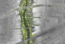 Projects (landscape arch.) / Plans-Visualisations-Photoshop