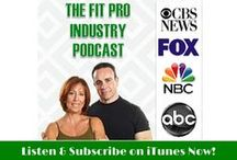 FitPro Industry Podcast Program / The FitPro Industry Podcast Program - bringing insights and conversation about the Health, Fitness & Wellness industry.