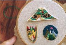 Stitch: places / landscapes, maps, places, travels
