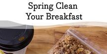"""Spring Clean Your Breakfast / This month we're challenging you to """"Spring Clean Your Breakfast"""" by replacing fattening, high-sugar breakfasts with protein-packed Muuna cottage cheese. Check out our this board full of ideas, recipes, and tips!"""
