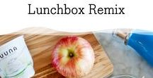 Back to School Lunch Ideas / It's that time of year! Time to fill your kid's lunchboxes (and yours, too!) with healthy, delicious food. Here are a few ideas beyond the PB & J that are sure to impress!
