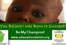 Adassa Adumori Foundation Inc. works to Save Children's Lives in Africa / The Adassa Adumori Foundation, Inc. is a US 501(c)3 Organization founded by Fumi Hancock to alleviate hunger & poverty by providing quality education, health and human capital development in Africa.  www.adassafoundation.org