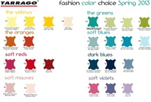 Color Charts / The largest color range available for your shoes and garments!