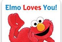 Elmo & Friends / If your child loves Elmo, put them in the story along with Elmo in Elmo Loves you!   Follow this link for a tour of the book! http://www.putmeinthestory.com/see-inside/tour-elmos-loves-you.html / by Put Me In The Story Personalized Books for Kids