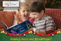 Holiday & Winter Fun / Your child will light up with joy when they see their name woven into the story line with Santa, elves, reindeer and more, and the special sentiment will make these books a holiday reading tradition. See more at: http://www.putmeinthestory.com/personalized-gift-occasions/christmas / by Put Me In The Story Personalized Books for Kids