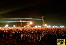 Italy Loves Emilia / Il backstage durante le riprese all'evento Italy Loves Emilia, il grande concerto tenutosi a Campovolo nel settembre 2012 con Ligabue, Jovanotti, Zucchero, Renato Zero, Elisa e tanti altri artisti.