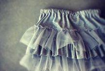 Varrás: Egyszerü làny ruha / girl dress