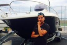 Boat show / Me at boat show