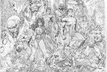 Pencils art, esketchs Comics... / Lápis arte. / by Adriano Felicissimo
