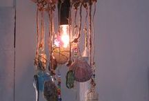 Bohemian style and decorations