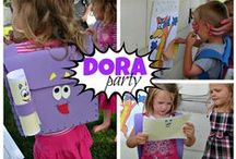 Dora Birthday Party / Little explorers will have a blast traveling around with Dora on a fun, personalized scavenger hunt in Dora's Birthday Surprise Personalized Book! Personalize this birthday book for your little Dora fan with their name and photo, and include a special message on the dedication page.
