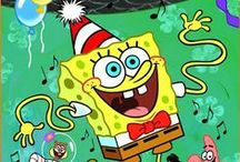 SpongeBob Squarepants / Join all your friends from Bikini Bottom—including Patrick, Sandy, Squidward, and more—in a personalized birthday adventure with SpongeBob. There may just be a birthday surprise after all in Happy Birthday SpongeBob!