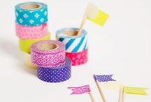▸ DIY   Washi Tape / Colourfull world of Washi Tape www.hakoltov.com