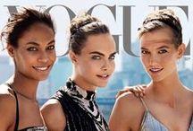 Vogue, Harper Bazaar, Elle