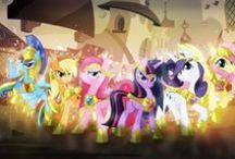 My Little Pony / All 'bout Friendship of the mane six! XD
