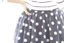 ▸ Fashion   Polka dots / polka dots makes me happy www.hakoltov.com