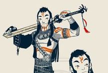 Illustration: Character Design / Inspiration and Ideas for character Design