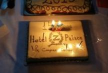 New year's cake and 15th birthday! / New year's cake and 15th birthday for Hotel Z Palace!