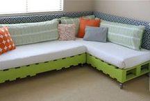 ▸ DIY  Kids beds / מחפשת רעיונות מיוחדים לעיצוב חדרי הילדים  מפנטזת על בניית מיטות לבד